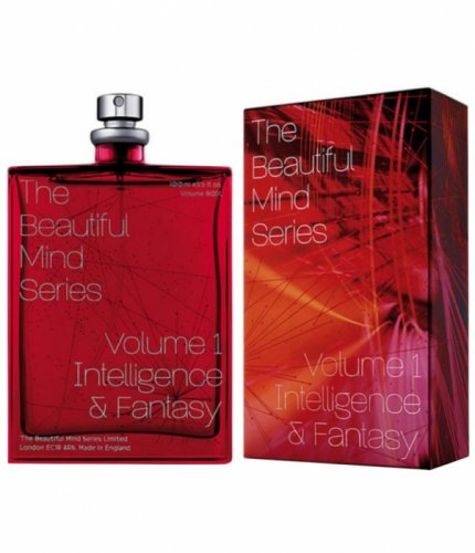 Туалетная вода унисекс Escentric Molecules The Beautiful Mind Series Intelligence & Fantasy 100ml